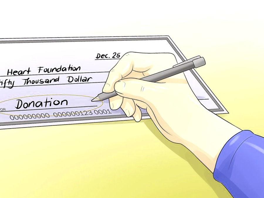 Anotaciones a rellenar en el cheque