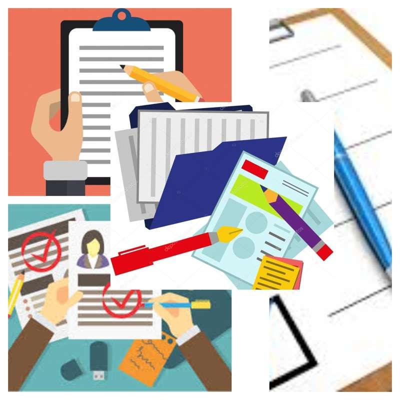 Como rellenar documentos paso a paso